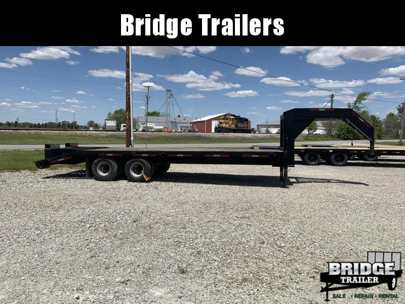 1998 May Trailers GSN 20' + 5' Gooseneck Bodies