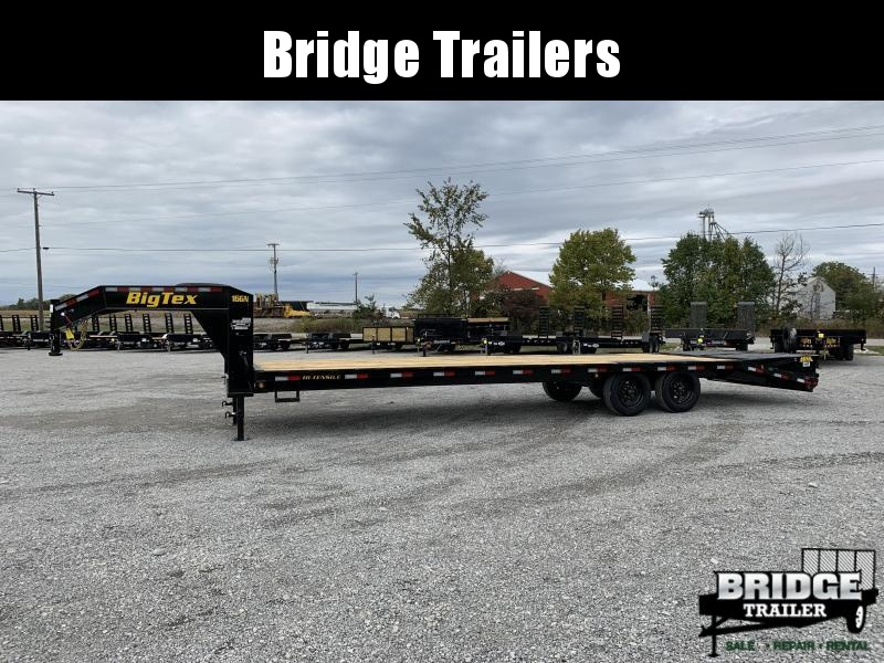 "2022 Big Tex Trailers 16GN-25BK+5MR (102"" X 30') Flatbed Trailer"