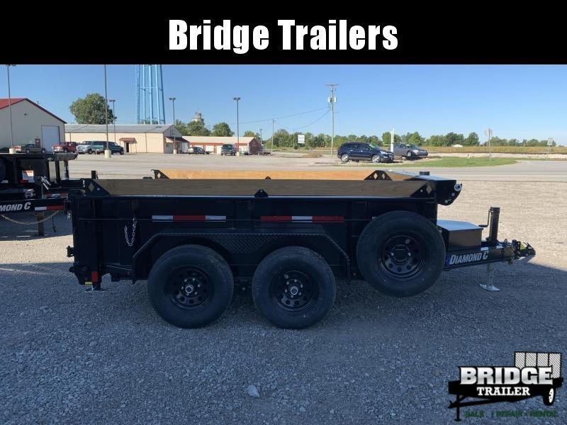 "2021 Diamond C Trailers MDT206L10X77 (77"" X 10') Dump Trailer"