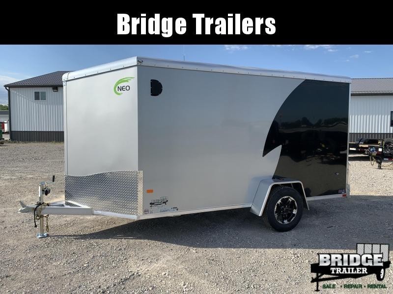 2022 NEO Trailers NAM126SR (6' X 12') Round Top / Slant Motorcycle Trailer Motorcycle Trailer