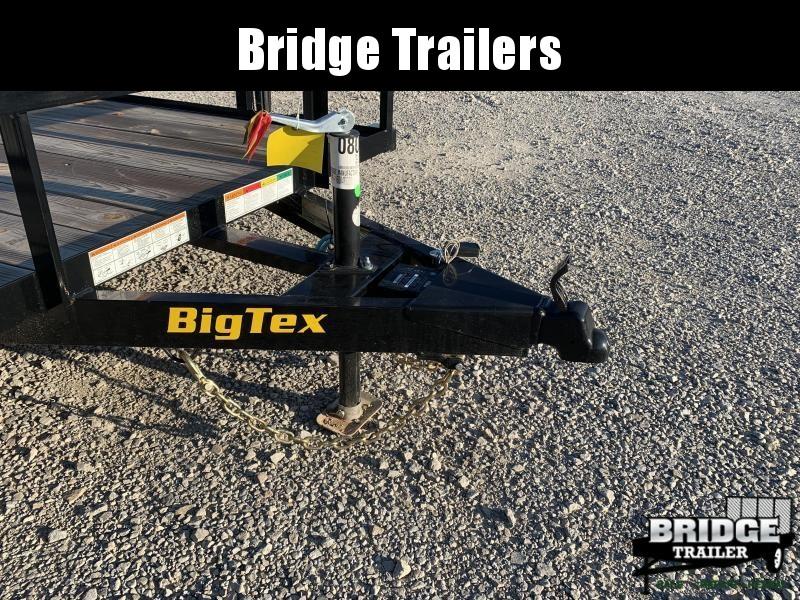 """2022 Big Tex Trailers 60PI-16 (77"""" X 16') Utility Trailer"""