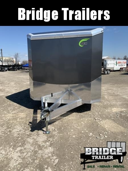 2021 NEO Trailers NACX2085R Bull Nose Auto Trailer Car / Racing Trailer