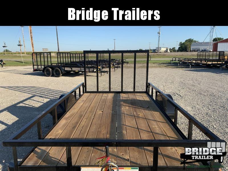 "2022 Big Tex Trailers 35SA-12 (77"" X 12') Utility Trailer"