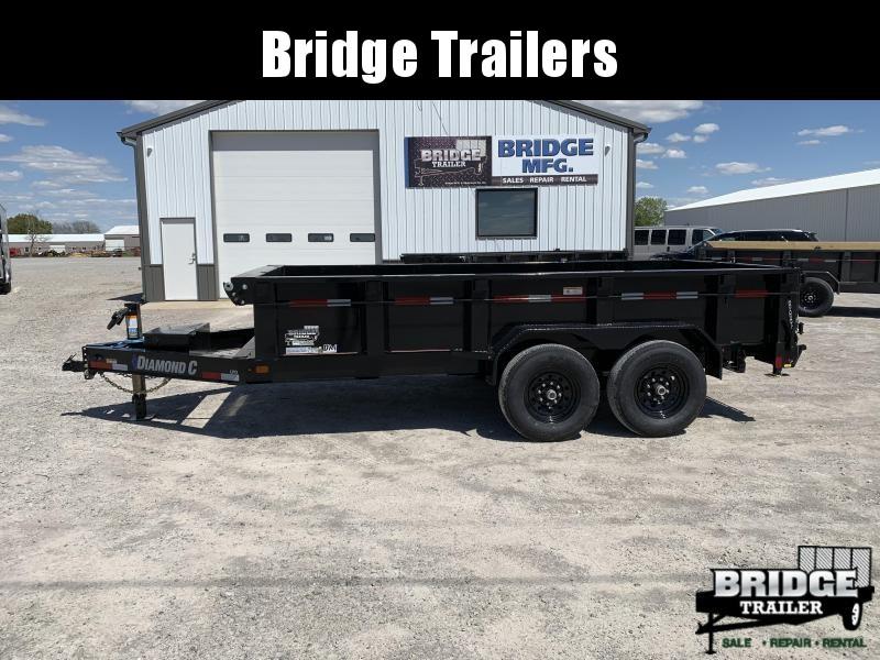 "2021 Diamond C Trailers LPD207 14' X 82"" Dump Trailer"