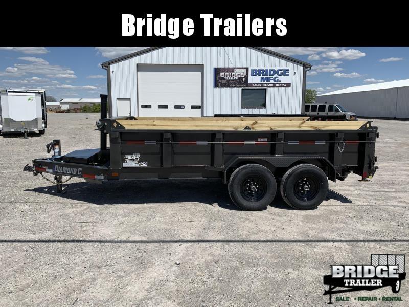 "2022 Diamond C Trailers LPT207 14' X 82"" Dump Trailer"