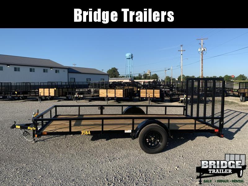 "2022 Big Tex Trailers 35SA-14 (77"" X 14') Utility Trailer"