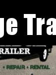 2021 AMO AL16TB - 76 X 16 Landscape w/ Gate Utility Trailer