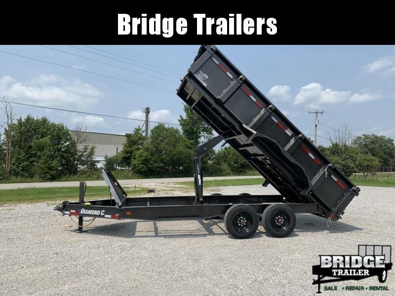 "2021 Diamond C Trailers LPD208L16X81 (16' X 81"") Dump Trailer"