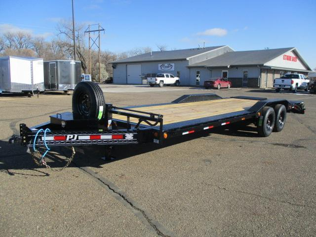 2020 PJ Trailers 8 Pro-Beam Super-Wide Equipment Equipment Trailer