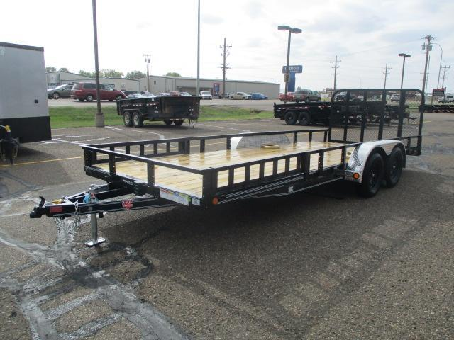 "2021 PJ Trailers 20'x83"" Tndm Axle Channel Utility Trailer"