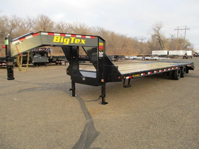 2021 Big Tex Trailers 22GN-28BK+5MR Flatbed Trailer