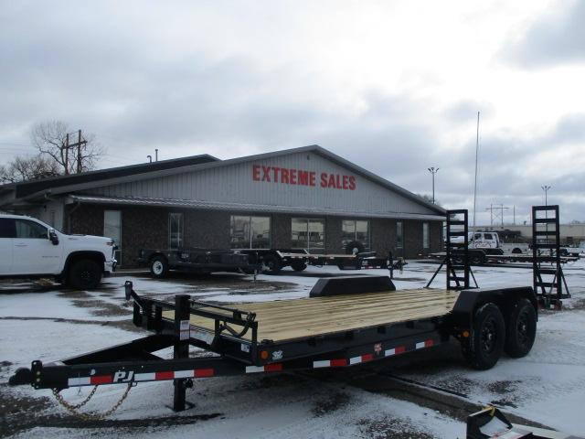 "2021 PJ Trailers 20'x6"" Channel Equipment Trailer"