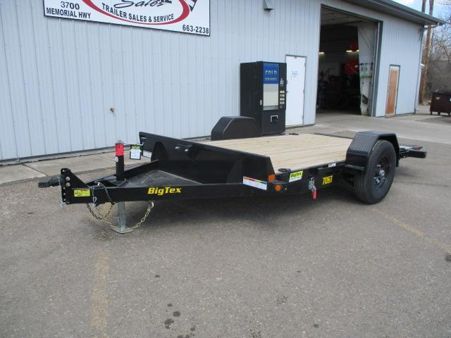 2020 Big Tex Trailers 70ST-13BK Equipment Trailer