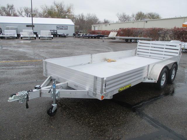 2021 Aluma 8116TA SR Tandem Axle Utility Trailer