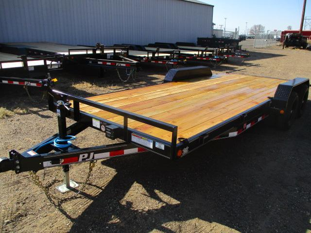 "2021 PJ Trailers 20'x5"" Channel Equipment Trailer"