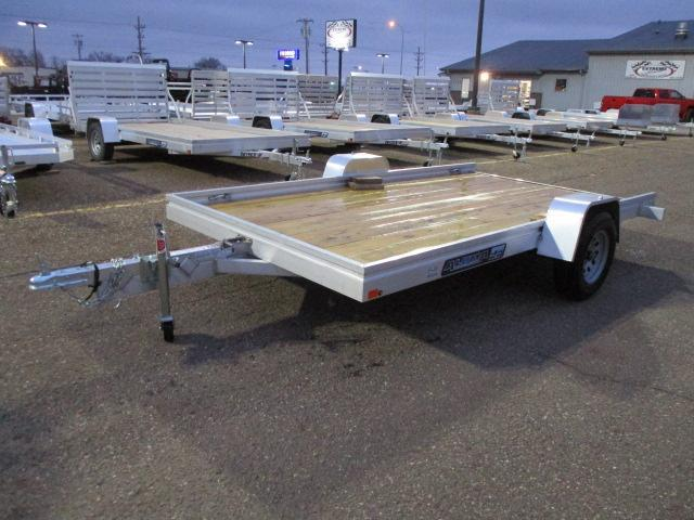 2020 Aluma 7812 Edge Series Wood Deck Tilt Utility Trailer