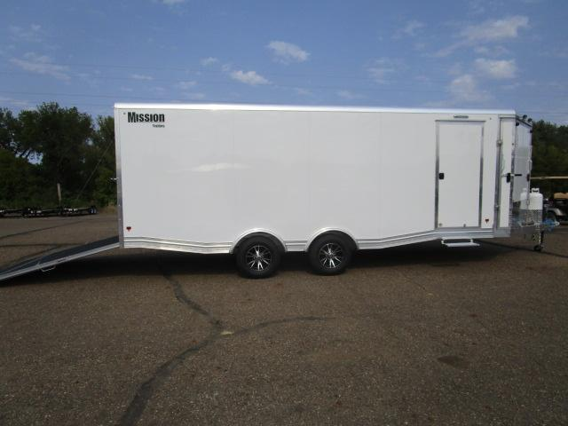 2018 Mission MCH8.5x22-AS All Sport Trailer Car Hauler/Snow Combo