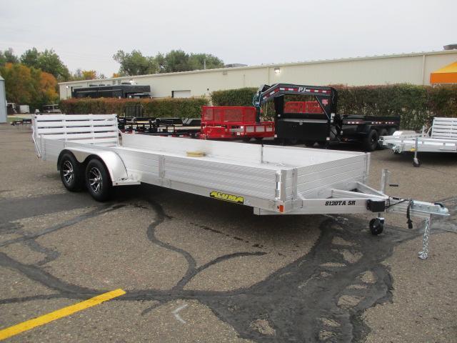 2021 Aluma 8120TA SR Tandem Axle Utility Trailer