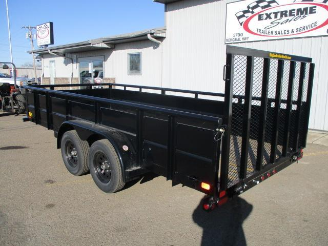 2020 Big Tex Trailers 70TV-16BK Utility Trailer