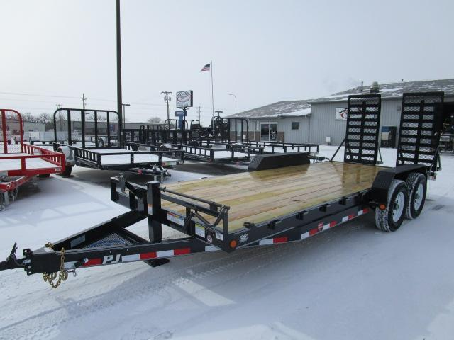 "2018 PJ Trailers 20' x 6"" Channel Equipment Trailer"