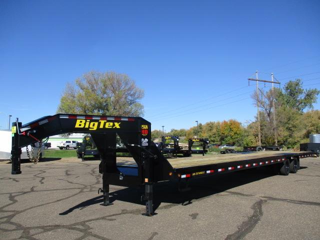 2022 Big Tex Trailers 25GN-40BK Flatbed Trailer