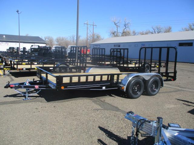 "2021 PJ Trailers 16'x83"" Tndm Axle Channel Utility Trailer"