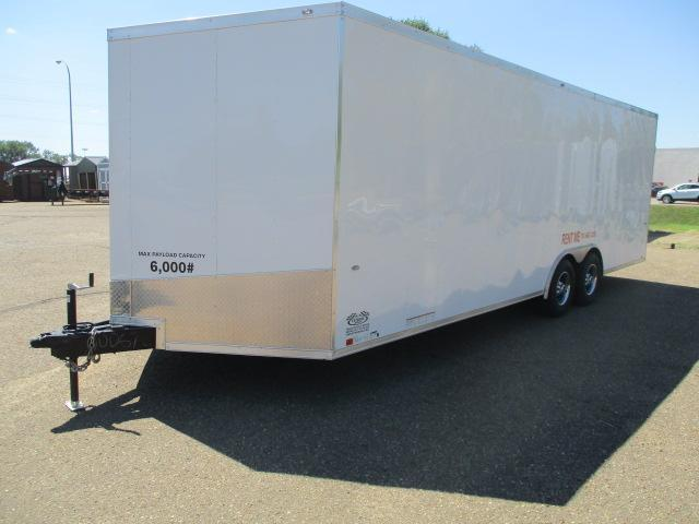 RENTAL 2019 Formula Trailers FSCAB8.5X24TE3FF Enclosed Cargo Trailer