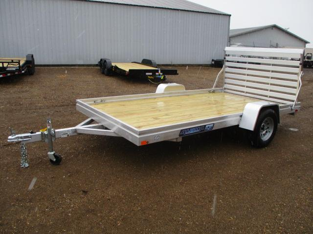 2022 Aluma 7812 Edge Series Wood Deck Utility Trailer