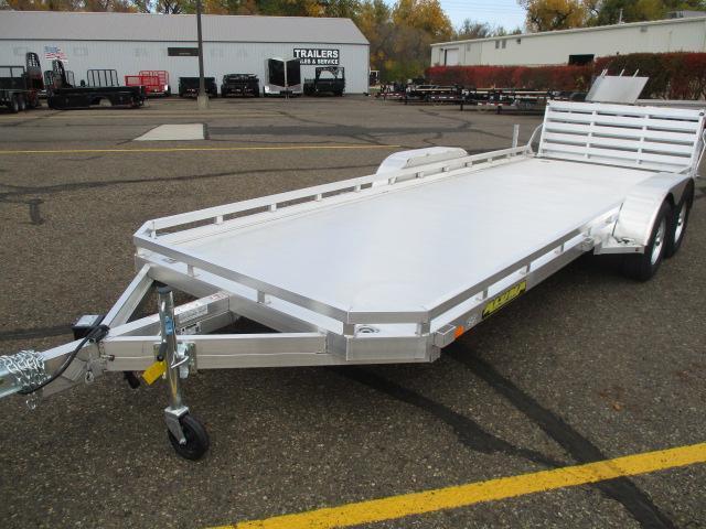 2021 Aluma 7820 BT Tandem Axle Utility Trailer