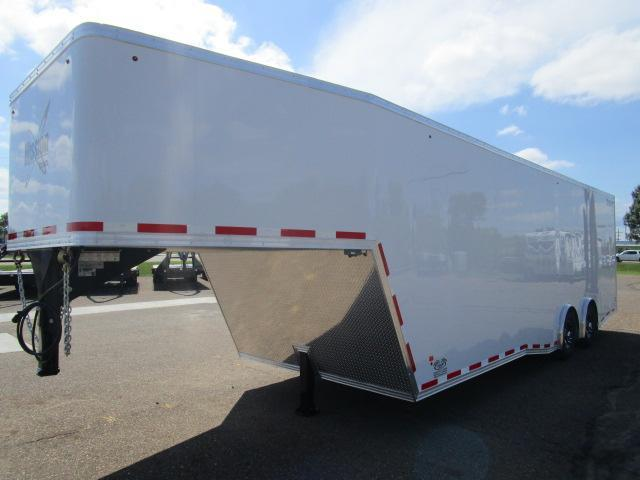 2019 Mission MEG8.5x34 Gooseneck Enclosed Cargo Trailer