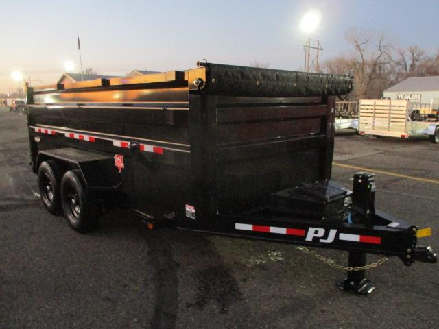 2021 PJ Trailers 83 Low Pro High Side Dump (DM) Dump Trailer