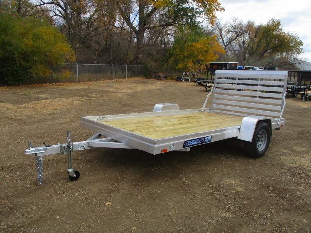 2021 Aluma 7812 Edge Series Wood Deck Utility Trailer