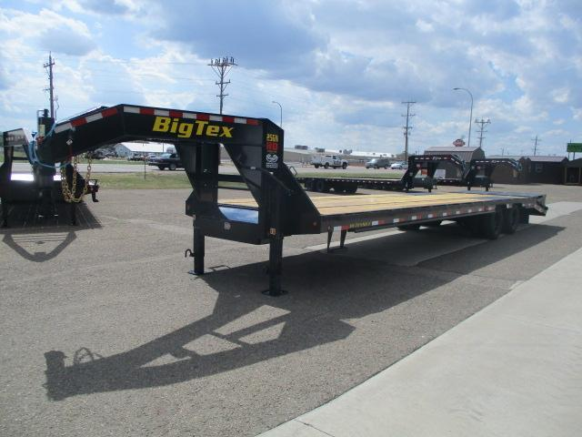 2021 Big Tex Trailers 25GN-30BK+5MR Flatbed Trailer