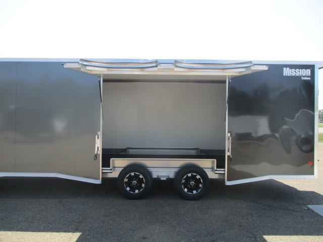 2021 Mission MCH8.5x24-AS All Sport Trailer Car Hauler/Snow Combo