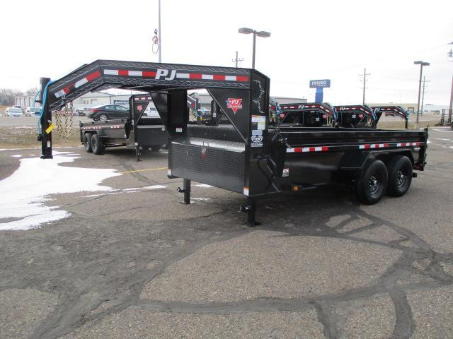 2021 PJ Trailers 14' Low Pro Dump Trailer