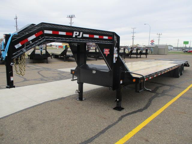 2021 PJ Trailers 36' Low-Pro Flatdeck with Duals Trailer