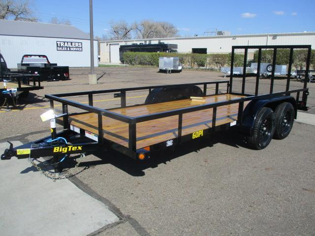 2021 Big Tex Trailers 60PI-16BK4RG Utility Trailer
