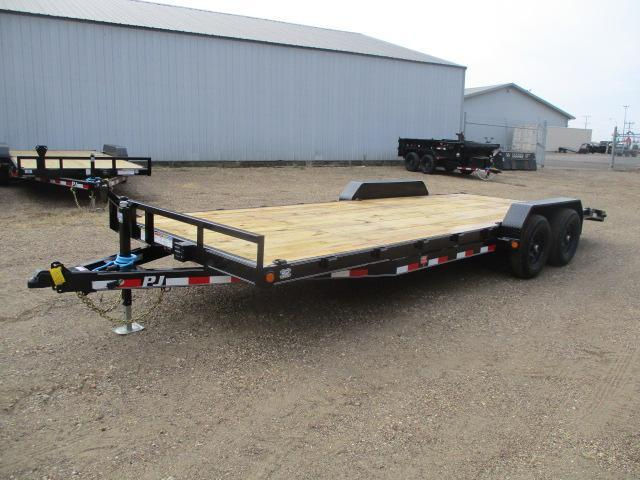 "2021 PJ Trailers 22'x5"" Channel Equipment Trailer"