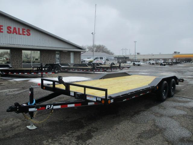 2021 PJ Trailers 5 Channel Buggy Hauler Car / Racing Trailer