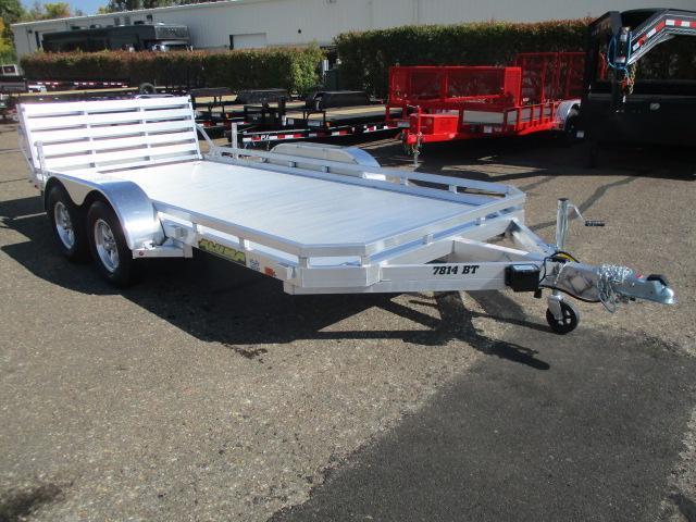 2021 Aluma 7814 BT Tandem Axle Utility