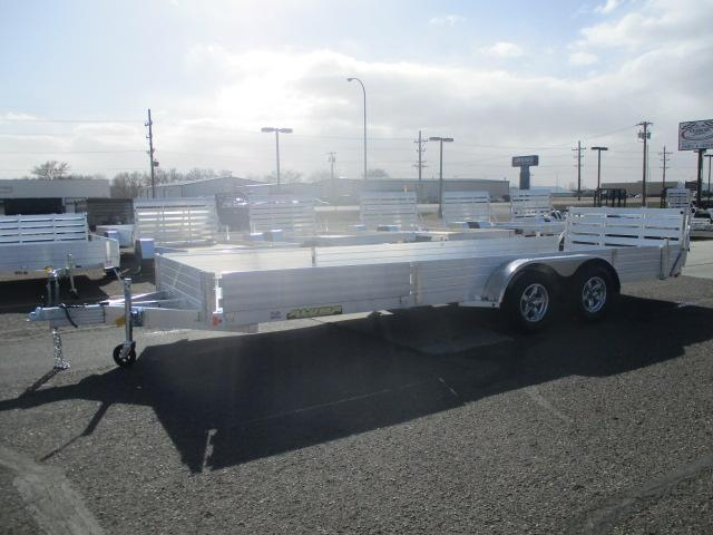 2022 Aluma 8120TA SR Tandem Axle Utility Trailer