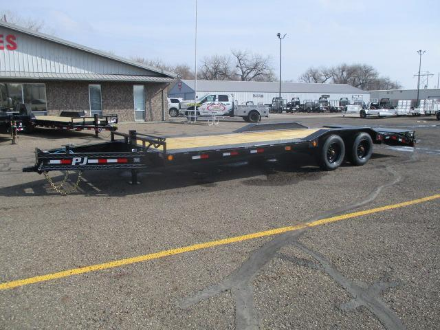"2021 PJ Trailers 10"" Pro-Beam Super-Wide Equip (H7) Equipment Trailer"