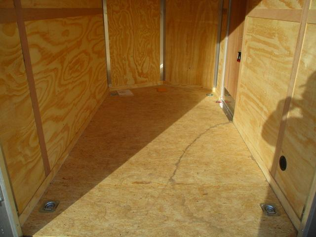 2021 RC Trailers RDLX6X10SA Enclosed Cargo Trailer