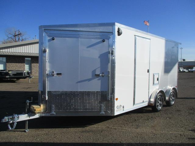 2021 EZ Hauler EZES7.5X14-ELITE Enclosed Snowmobile Trailer