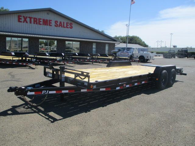 "2021 PJ Trailers 22'x6"" Channel Equipment Trailer"