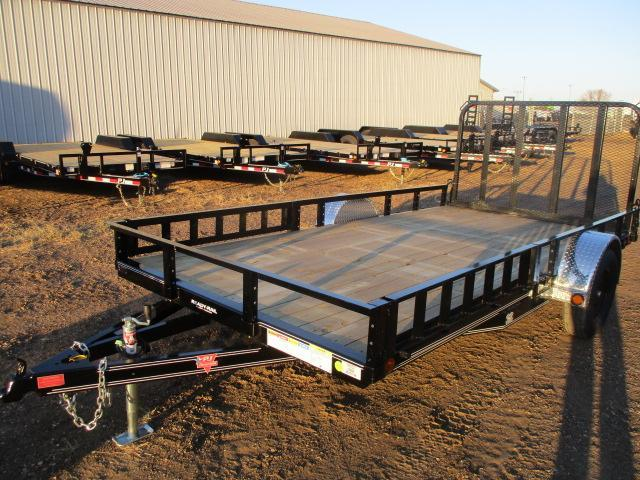 "2021 PJ Trailers 14'x83"" Sngl Axle Channel Utility Trailer"