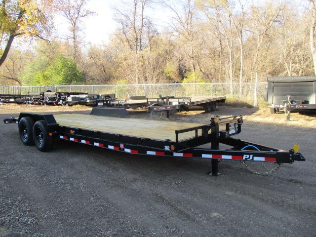 "2021 PJ Trailers 24'x6"" Channel Equipment Trailer"