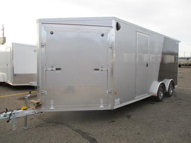2021 EZ Hauler EZES7.5X18-ELITE Enclosed Snowmobile Trailer