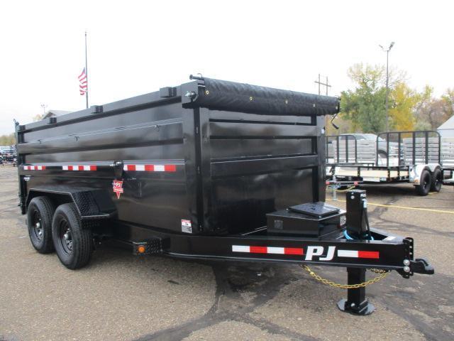 2022 PJ Trailers 83 Low Pro High Side Dump (DM) Dump Trailer