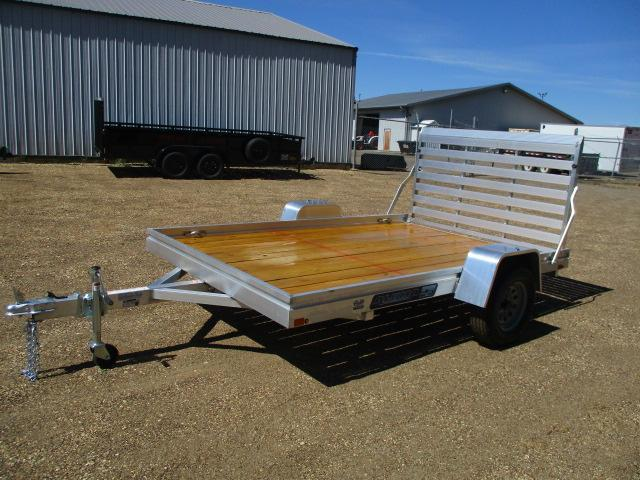 2021 Aluma 7810 Edge Series Wood Deck Utility Trailer